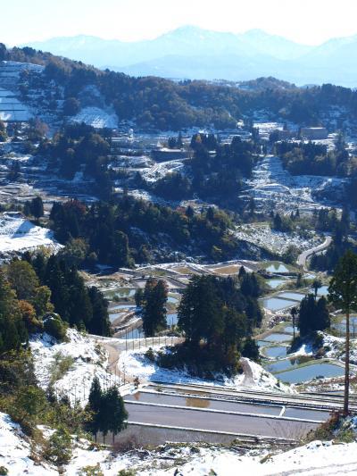 2009 「 初 雪 の 山 古 志 & も み じ 園 」 の 旅 < 新潟県長岡市 >
