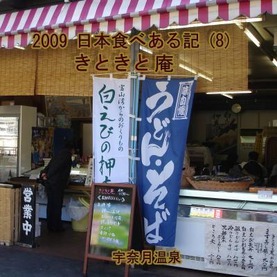 2009 日本食べある記 (8)  きときと庵
