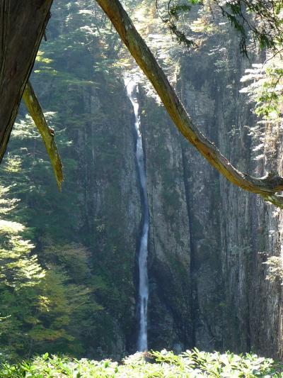 日本の滝百選『双門の滝』の勇姿◆2009年秋・滝コミュオフ会