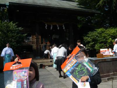 報徳二宮神社で七五三