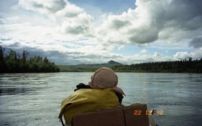 ユーコンリバー770kmのカヌー旅