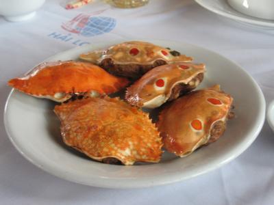 ベトナム・ハロン湾に行きました。(クルーズでお食事編)