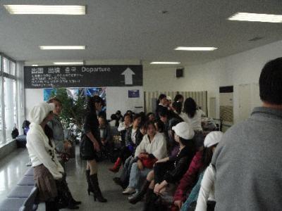 船出: 大阪⇒上海 「中国からの研修生とともに」