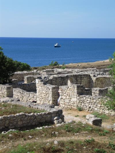 2009年ウクライナ旅行第8日目(5)クリミア半島:大急ぎで回ったセバストポリとヘルソネス遺跡