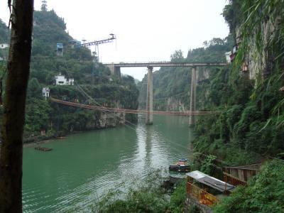 2008年 10月 宜昌旅行(三遊洞)
