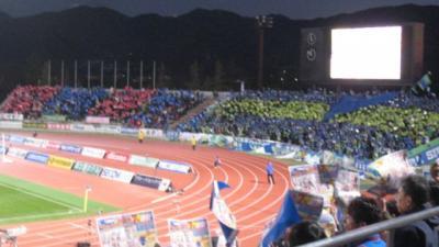 1129決戦 J2リーグ 甲府 vs 湘南