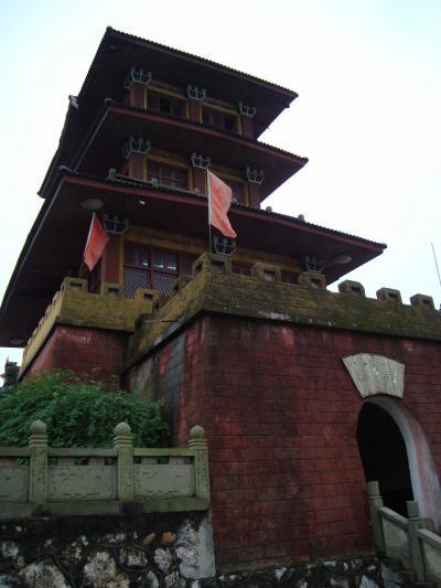 2008年 10月 宜昌旅行(おう亭古戦場-上巻)