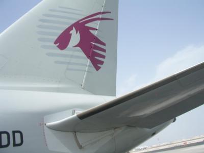 天空のレストラン  カタール航空の機内食