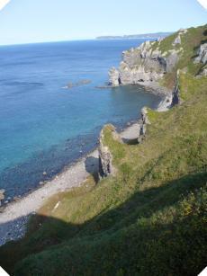 2006/9 地元っ子でもびっくりした神威岬の積丹ブルー