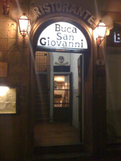 ★ブルネッロとビフテッカ・Buca di San Giovanni