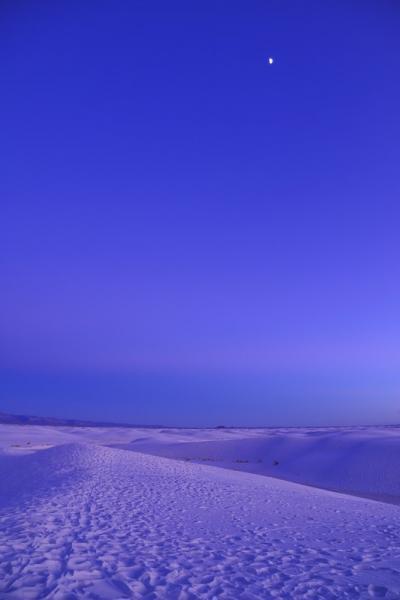 White Sands へ①