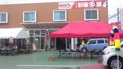移動販売 埼玉県行田市 クレープ&ホットドッグ出店 自動車販売店
