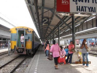 雑感タイ旅行「マレーに吹く風」(8)ハジャイ駅とその周辺。