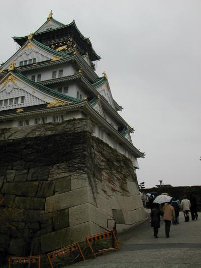 2009.大阪城~新今宮スパワールドでヨーロッパ風呂に入る