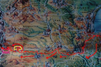 2000年ハーレー北米中米71285kmの旅vol35