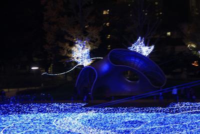 煌く夜のクリスマスイルミネーション2009~東京ミッドタウン・六本木ヒルズ・東京タワー編~