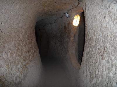トルコ17 カッパドキア2(カイマクル地下都市)
