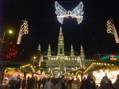 グラーツ&ウィーン 2009冬 クリスマスマーケット~市庁舎(ラートハウス)編~