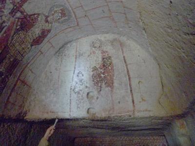 トルコ18 カッパドキア3(ギョレメ野外博物館 )