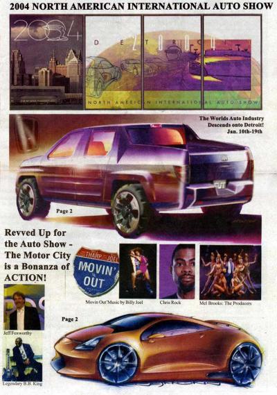 【ちょっとお出掛け】2004 North American International Auto Show
