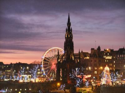 エディンバラ-Edinburgh-でクリスマス!