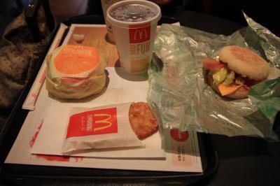 ○ 観光前の腹ごしらえは、やっぱりここがいい 「マクドナルド」