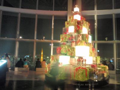 六本木ヒルズ クリスマス イルミネーション2009