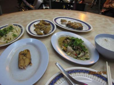 雑感タイ旅行「マレーに吹く風」(17)ハジャイでの夜の食事。