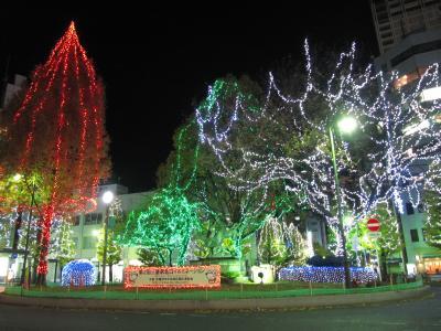 クリスマス・イルミネーションの三鷹ナイト・2009