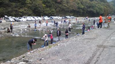 移動販売 神奈川県相模原 豚汁 釣り大会
