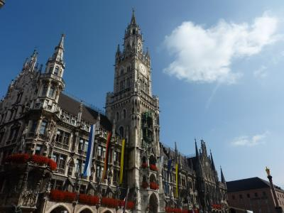 新婚自由旅行3日目 ドイツ