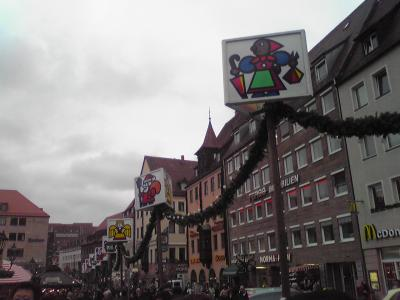 2009 クリスマスの国ドイツへ ~ニュルンベルク・ヴュルツブルク編~