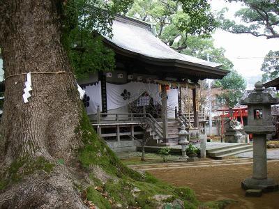 松森神社と西山神社