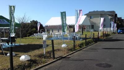 移動販売 神奈川県横浜市 たこ焼き、焼きそば、豚汁、メロンパン 住宅展示場