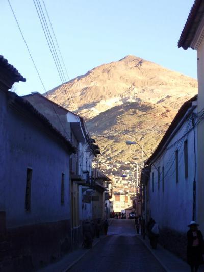 ユネスコの世界遺産:ボリビア国ポトシ市の風景