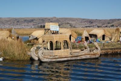 クスコからバスでプーノ(チチカカ湖)へ