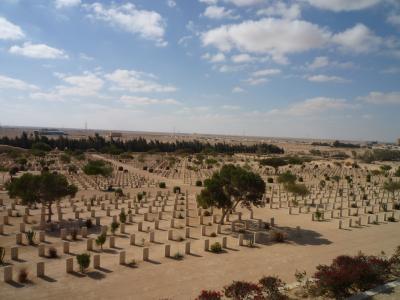 エル・アラメインの古戦場
