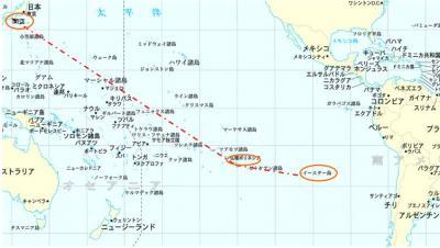イースター島とタヒチ② イースター島