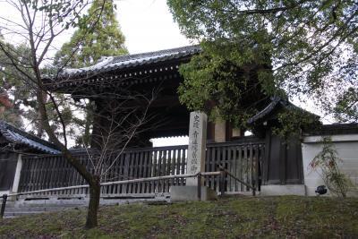 師走の京都散策:②青蓮院門跡