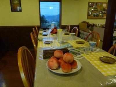 2009年の旅 20 長野県木島平へ。桃を食べに行く