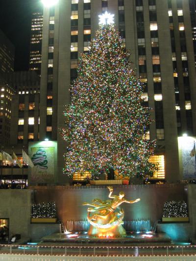 マンハッタンからクリスマスグリーティング!