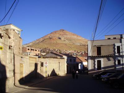 ユネスコの世界遺産:ボリビア国ポトシ市の風景 #2