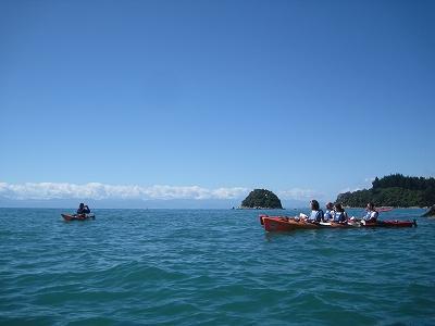 '09-10南島ワイナリーめぐりと野生動物の旅④エイベル・タスマンでシーカヤック!
