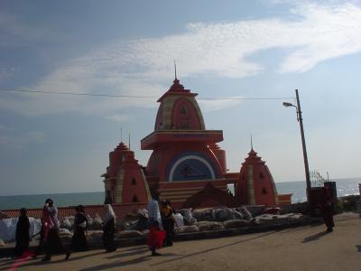 南インド17: 最南端コモリン岬 「安くて、綺麗で、快適な宿」