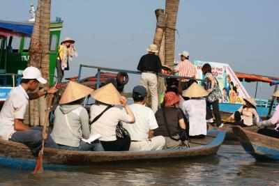 2009冬、ベトナム旅行記3(31)12月21日(5)ミト―川クルージング・ミト―からホーチミンへ