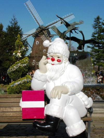 アンデルセン公園-11 メルヘンの丘に=雪=が降る ☆大賑わいの快晴日
