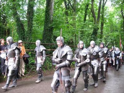 ちゃあちゃんカルテンスベルクへ中世騎士祭りを見物に行く