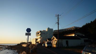 09年12月31日(木)、阿字ヶ浦「とらや旅館」報告。