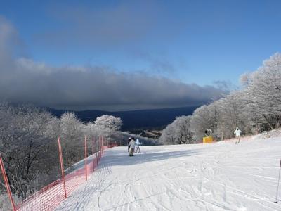 年末軽井沢スキー2009