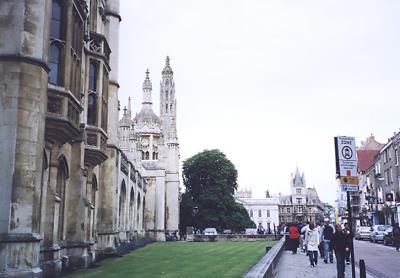 英国・アイルランドの一人旅 (2) ケンブリッジ訪問